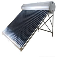 China Made Vacuum Tube Solar Water Heater