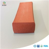 Foam Silicone Rubber Strip Foam Sealing Strip