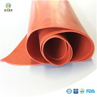 Red Silicone Rubber Sheet Silicone Rubber Sheet in Rolls