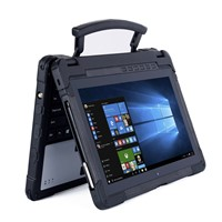 Cheapest FactoryWindows10 2.4Ghz Rugged Laptop4+128Waterproof Computer with Stylus Pen Barcode Scanner GPS Dustproof La
