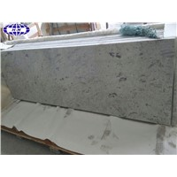 Prefab River White Granite Worktops