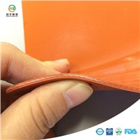 Cloth Insertion Corrugated Insulating Rubber Sheet