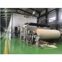80-100T/D, 3600mm Testliner Paper, Kraft Paper Machine, Raw Material: Waste Paper, Straw, Virgin Pulp, OCC