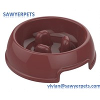 Dog Feeder Slow Eating Pet Bowl Eco-Friendly Durable Non-Toxic Preventing Choking Healthy Design Bowl for Dog Pet