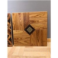 Brass Inlay Parquet Tiles. Design Parquet