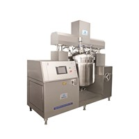 Hot Sale Body Cream Making Machine Vacuum Emulsifying Mixer