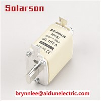 Low Voltage Square Body HRC NH00C Fuse 10A 12A 16A 20A 25A 35A 40A 50A 63A 80A 100A 125A 135A 150A 160A