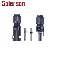 (TUV UL) 1500V DC MC4 Solar PV Connector IP67 for PV Energy System 30A/60A