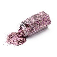 Holographic Irregular Shape Nail Glitter Powder Fine Glitter for Nail Art DIY