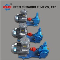 Self-Suction Food Grade Fluids Transfer Circular Arc Gear Pump for Edible Vegitable/Sunflow/Palm/Peanut/Sesame/Soya-Bean