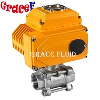 2 Inch China 24v 110v 220v 380v Motorized Modulating Valve