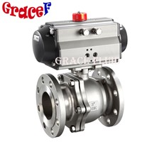 Flange API Auto Control Valve with Pneumatic or Electric Actuator