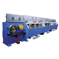 Rod Breakdown Drawing Machine for Copper Wires High Speed Electric Cable Making Equipment Used Wire Drawing Machine