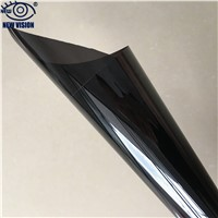 High Quality 1 Ply PET Holographic 1.52*30 m Vlt15% Self-Adhesive Solar Static Window Glue Tinting Film for Car Window