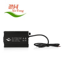 36V 10Ah Battery Charger OEM Customized with Aluminium Alloy Housing for Electric Scooter with CE&Rohs