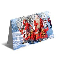 Lenticular Printing 3D Greeting Card Thank You Card/ Christmas Card