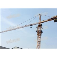 6t TC6010 QTZ80 Tower Crane Topkit Type with Hammer Head VFD Frequency Motor Used in Philippines