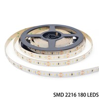 24V Ultra Thin Constant Voltage High CRI 95 180leds/m SMD 2216 LED Strip Light