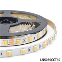 SMD5050 2in1 Tunable White LED Strip 60Leds/m