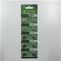 Tianqiu LR1130 Button Cell AG10 Watch Battery Factory