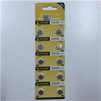 Tianqiu LR41 Button Cell AG3 Watch Battery Factory in China