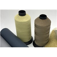 Kevlar Sewing Thread with Stainless Steel Wire for Shielding, Superior High Temperature Resistance