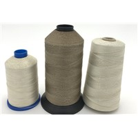 PTFE Coated Fiberglass Thread, Teflon Coated Fiberglass Sewing Thread, High Temperature Resistance