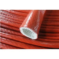 Silicone Coated Fiberglass Sleeving Fiberglass Pipe Silicone Sleeve, Cmpetitive Price, Heat Insulation