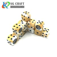 We Custom Plastic D4, D6, D8, D10, D12, D20 & More, Black & White Or Other Color Dice of