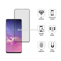 Dlix 3D Covered Full AB Glue Tempered Glass Screen Protector for Samsung Galaxy S10