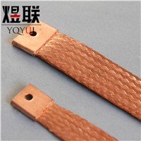 Braided Copper Earthing Tape Grounding Connector