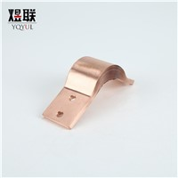 Laminated Foil 0.1mm Flexible Copper Conductor Electrical Shunt