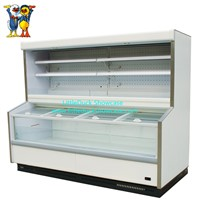 Supermarket Double-Temperature Combine Cabinet