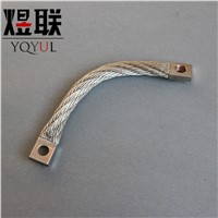 Tinned Copper Stranded Flexible Connector Grounding Jumper
