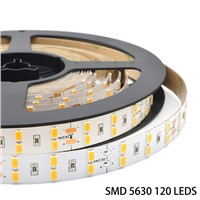 Waterproof IP65 IP66 IP67 200mp 3m Tape SMD5630 120LEDs LED Strip Lighting