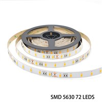 Waterproof IP65 IP66 IP67 200mp 3m Tape SMD5630 72LEDs LED Strip Lighting