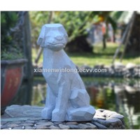 Outdoor Art Animal Garden Dog Statue