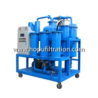 Hydraulic Oil Purifier Cleaning Equipment, Lube Oil Filtration System with Vacuum Dehydrator, Degas