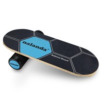 NALANDA Balance Board Stability Trainer, Professional Roller Board with Anti-Slip Surface for Daily Exercise