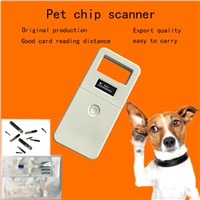 High Performance Animal RF Identification Handheld Reader 134.2Khz 20cm Reading Distance