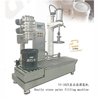 High Accuracy Chemical Really Stone Paint Filling Machine