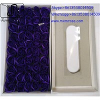 Top Quanlity Wholesale 50 Pcs Soap Rose Flower Best Gift for Valentine's Day/Mother's Day, Wedding & Home Decoration.