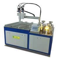 XHL-2000G-Two Material AB Glue Potting Machine
