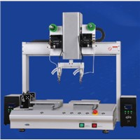XHL-H5331S Desktop Double Station Double Head Automatic Soldering Machine
