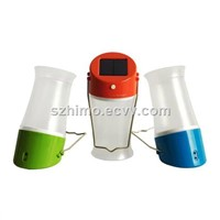 Portable Solar Camping Lantern for Outdoor Lighting with LifePo4 Battery
