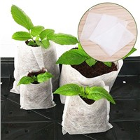 China Supplier Mothproof 100%Polypropylene Nonwoven Fabric Plant Nursery Bag