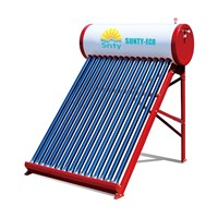 2019 Latest Sun Heat Pipe Solar Water Heater 150L