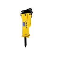 LHB200 Backhoe Loader Hydraulic Jack Hammer Rock Breaker for Excavator Construction Machinery Parts