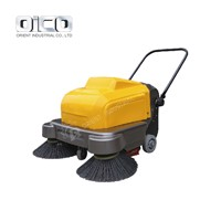 or-P100A Walk behind Electric Road Sweeper