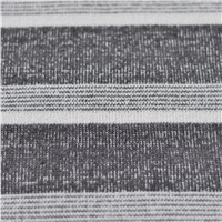 100% Polyester Polar Fleece Knitting Fabrics Stripe Sweater Outdoor Wear Fabric Fall Winter Garment Used